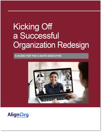 Kicking Off a Successful Organization Redesign Cover
