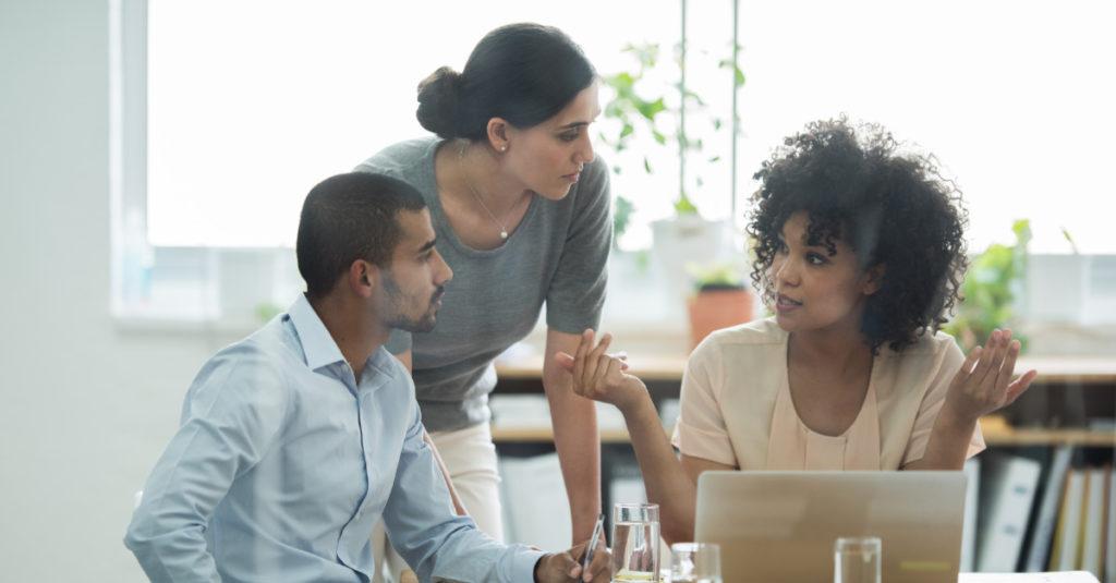 Employees evaluate diversity initiatives