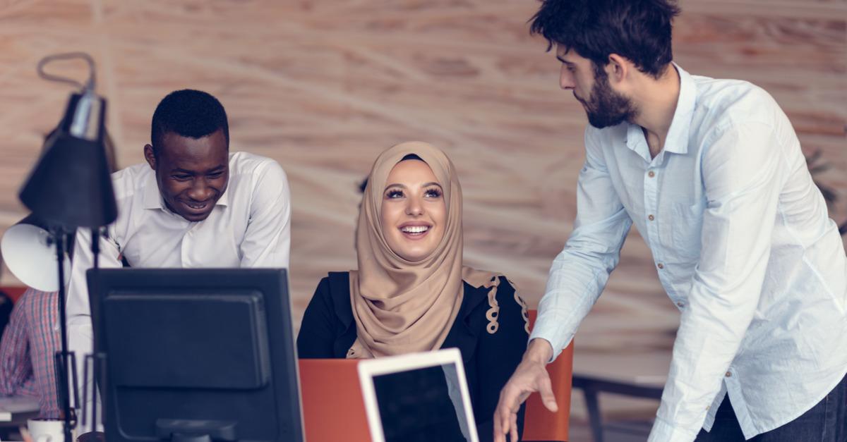 Positive diverse corporate culture