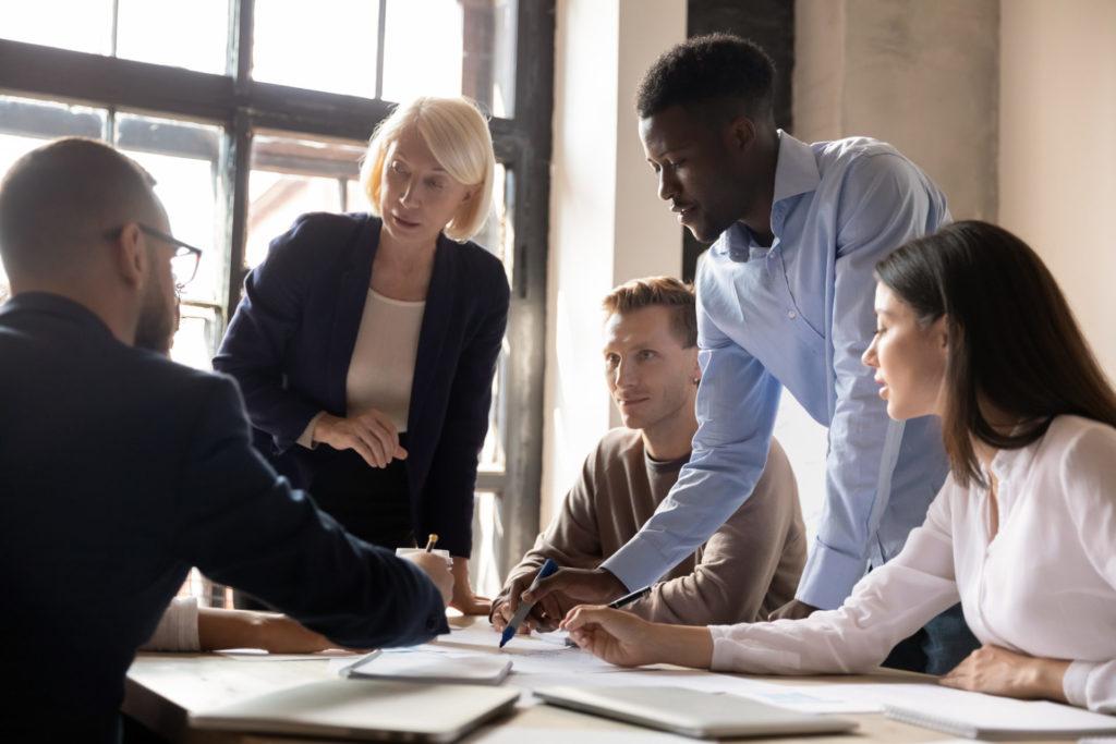 Diversity in a global organization