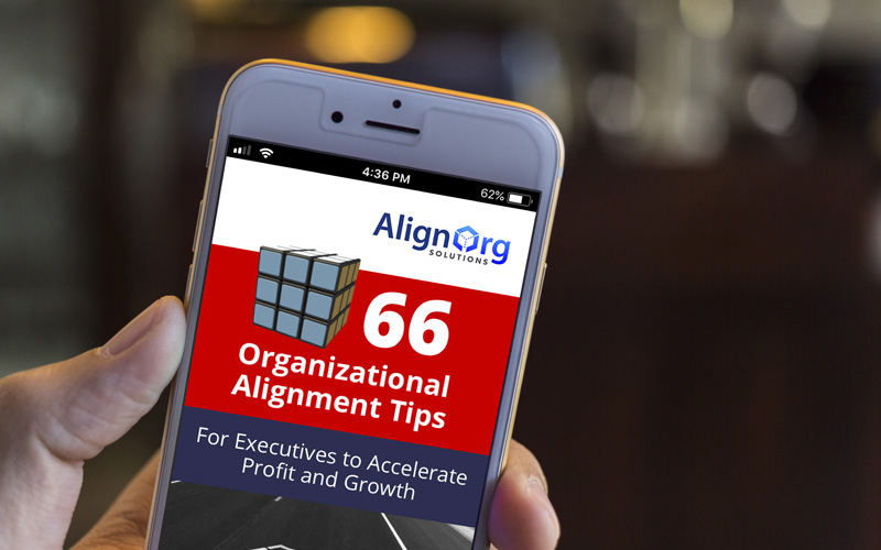 AlignOrg Organizational Alignment Tips App