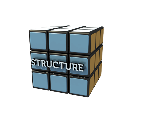 Structure Blue Small 500